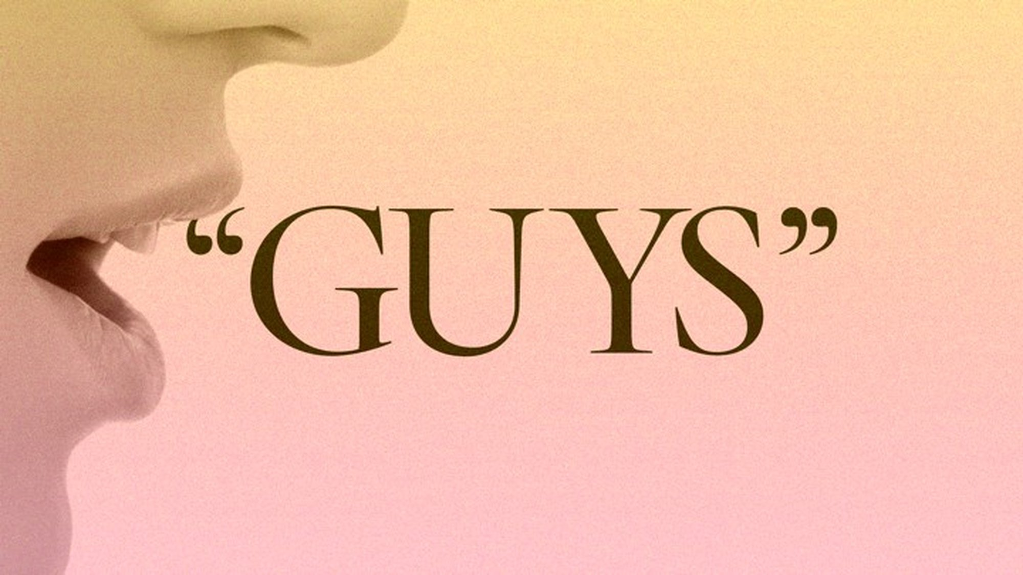 The Problem With 'Hey Guys' - The Atlantic - Pocket