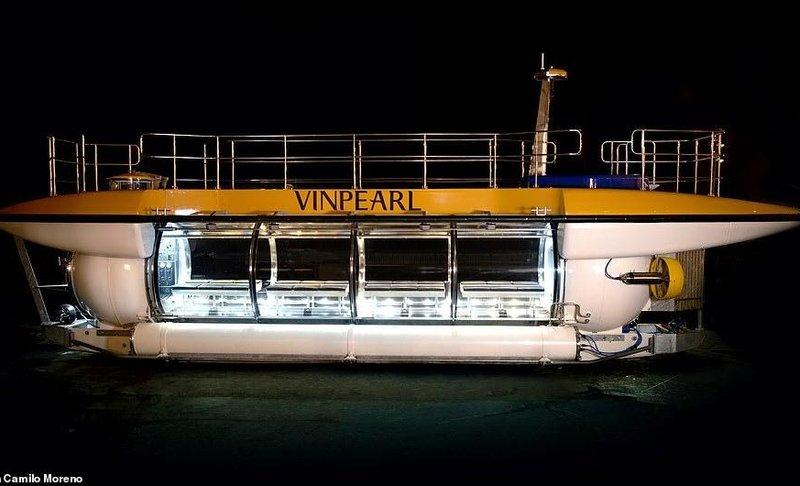 Ông chủ Vingroup mua tàu ngầm DeepView24 cho du khách Vinpearl trải nghiệm
