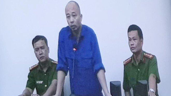 """Hình ảnh đầu tiên của Đường """"Nhuệ"""" tại phiên tòa phúc thẩm vụ Lâm Quyết"""
