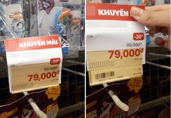 """""""Giận tím người"""" với màn bóc mẽ mánh khóe giảm giá 'nâng lên hạ xuống' ở siêu thị"""