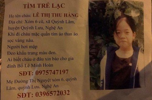Tìm kiếm nữ sinh 15 tuổi mất tích sau khi đi thẻ dục buổi sáng