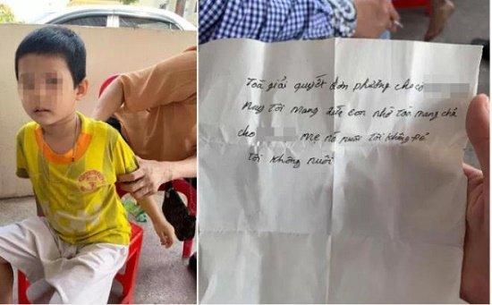"""Vụ bố bất ngờ bỏ rơi con 3 tuổi vì """"tôi không đẻ, tôi không nuôi"""": Bé trai được mẹ đón về nuôi"""