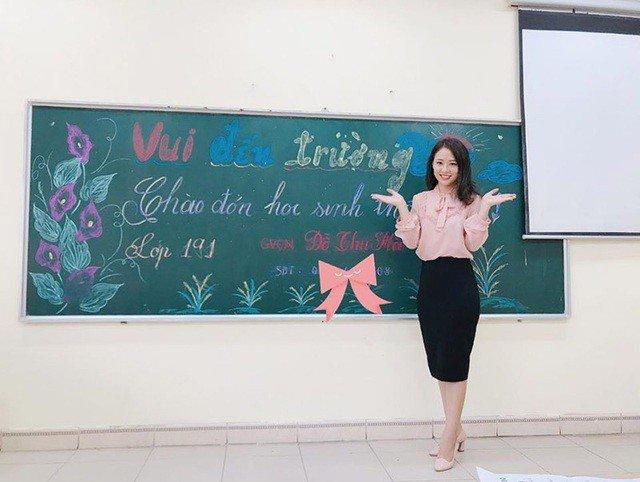 Cận cảnh nhan sắc nữ giáo viên tiểu học xinh như hotgirl gây sốt trên mạng xã hội