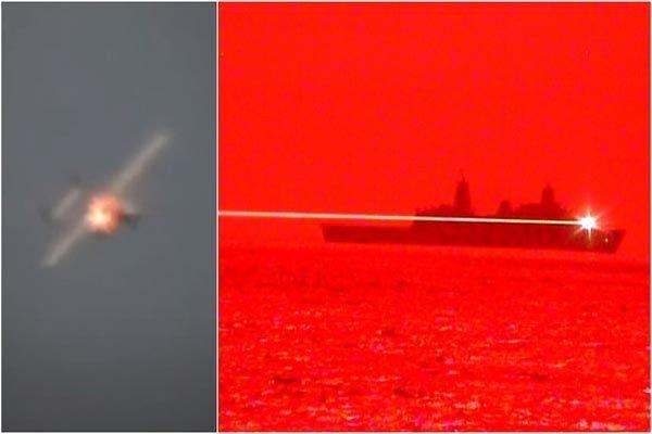 Lộ diện siêu vũ khí laser của Hải quân Mỹ có khả năng thiêu cháy phi cơ đang bay