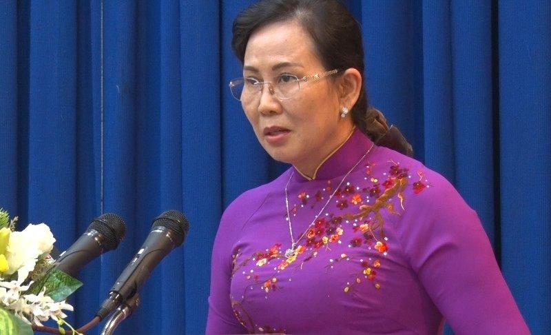 """Nữ Bí thư Tỉnh ủy Hà Nam: Thạc sĩ Luật học, nhiều năm """"đầu quân"""" trong ngành thanh tra"""
