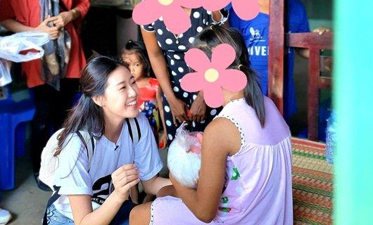 Hoa hậu Khánh Vân giúp đỡ các bé gái bị lạm dụng ở Sóc Trăng