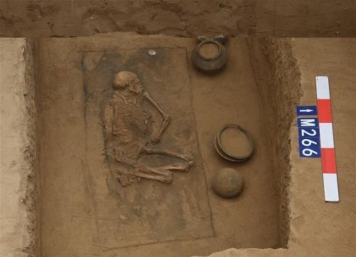 Trung Quốc: Phát hiện quần thể cổ mộ bên bờ sông Hoàng Hà