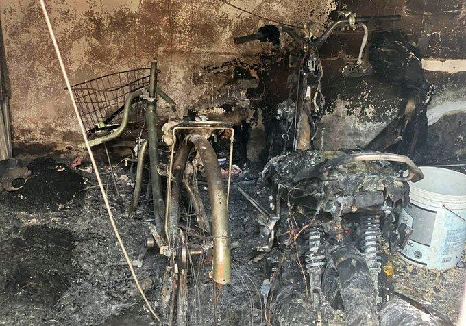 Nhân chứng vụ cháy phòng trọ, 3 người chết thảm: Lửa phừng phừng, cao cả mét