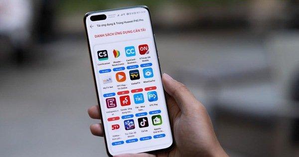 Vắng Google Play Store, nhiều người vẫn chuộng Huawei P40 Pro