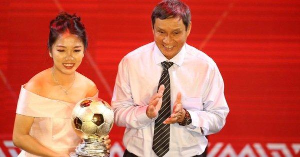 Trao giải Quả bóng vàng 2019: Huỳnh Như đoạt quả bóng vàng nữ
