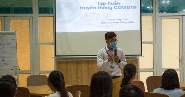 Chuyên gia Mỹ đào tạo về phòng, chống dịch COVID-19 cho sinh viên y khoa