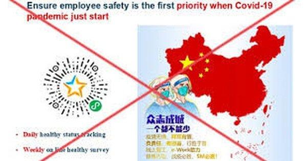 Lập biên bản tổng giám đốc Bayer Việt Nam về hành vi gửi tài liệu có 'đường lưỡi bò'