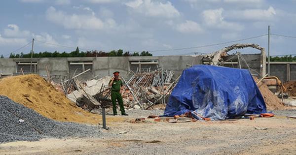 Tạm giữ hình sự 3 người trong vụ sập tường ở Đồng Nai, 10 người chết