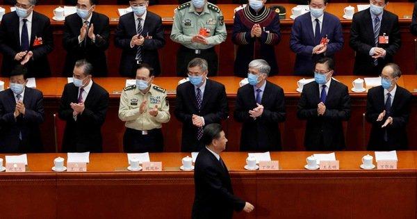 Trung Quốc bắt đầu 'lưỡng hội trên mây'
