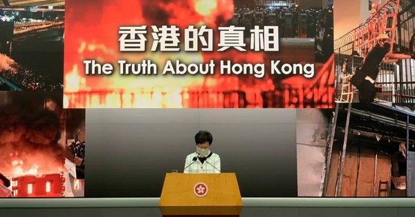 Hong Kong sôi sục kêu gọi biểu tình chống luật an ninh của Bắc Kinh