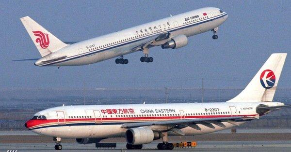 Mỹ yêu cầu 4 hãng hàng không Trung Quốc nộp lịch bay
