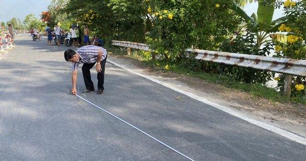 Quốc lộ 91 tiếp tục rạn nứt nửa mặt đường với chiều dài hơn 20 mét