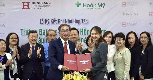 Đại học Quốc tế Hồng Bàng hợp tác đào tạo nhân lực cho bệnh viện