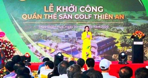 Thừa Thiên Huế yêu cầu dừng thi công sân golf Thiên An