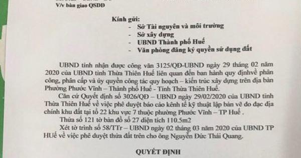 Làm giả quyết định của UBND tỉnh để lừa tiền bán đất