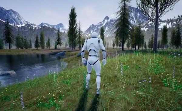 Choáng ngợp với bối cảnh 3D siêu đẹp do game thủ Việt tự xây dựng