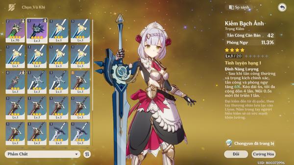 Hướng dẫn build Noelle - Cô nàng hầu gái Tanker xinh và gợi cảm nhất Genshin Impact