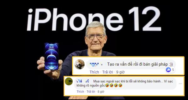 iPhone 12 vừa ra đã bị châm biếm: 'Sau này chắc chỉ còn mỗi hộp, phải mua máy với cáp sạc bỏ vào'