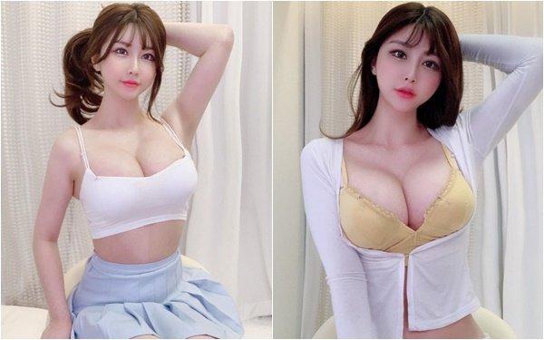 Ngực to tới mức vô lý, nữ streamer xinh đẹp bị fan nghi ngờ đụng chạm dao kéo