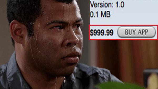 """Ứng dụng """"chát"""" nhất trên App Store có giá lên tới 999.99$ với tính năng """"ngu ngốc"""" khiến tất cả phát sốc"""
