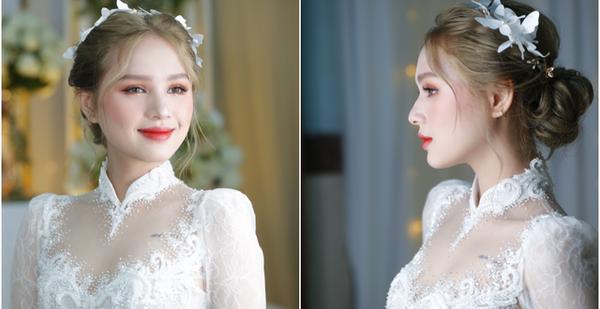 Nhan sắc Xoài Non trong ngày về làm dâu nhà streamer giàu nhất Việt Nam, chỉ vỏn vẹn 3 từ: Đỉnh của chóp!