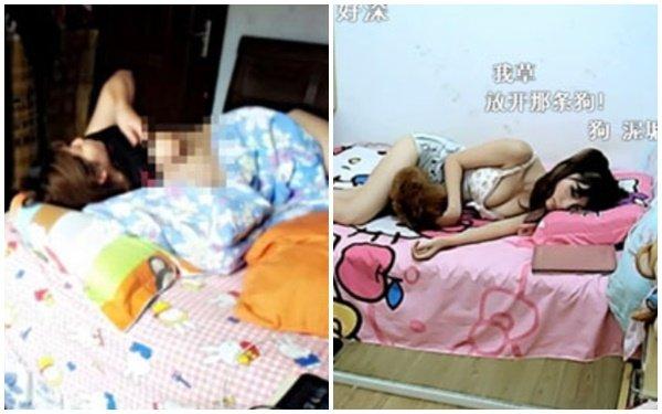 """Quên tắt camera khi đi ngủ, nữ streamer vô tình lộ khoảnh khắc """"nóng"""" khiến người xem đỏ mặt"""