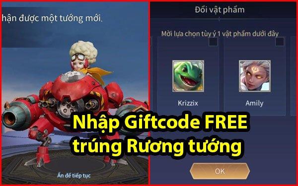 Garena tặng FREE Giftcode, game thủ Liên Quân cứ nhập mã là trúng ngay Rương tướng tự chọn