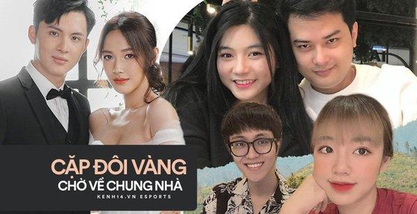 """Những cặp đôi """"vàng"""" của làng game Việt được cộng đồng mong đợi về chung một nhà"""