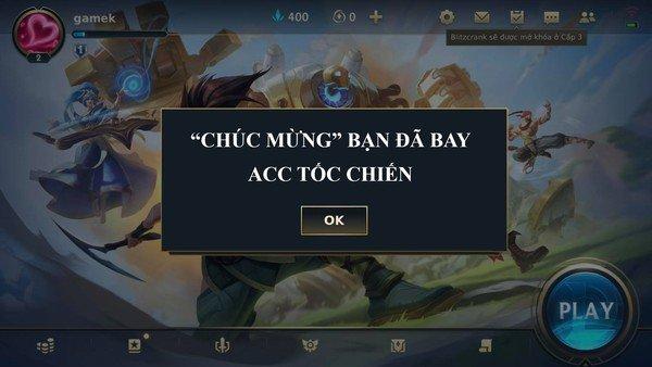 VNG làm game thủ Tốc Chiến phải hối hận khi cố tình khai sai thông tin, hậu quả người chơi sẽ mất hết