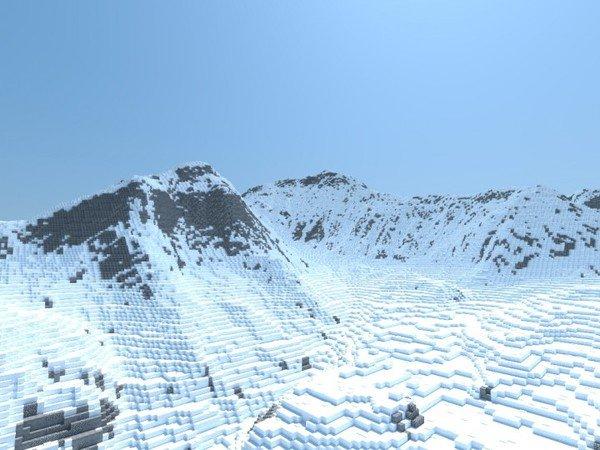 Mất hàng tháng trời, nam streamer mới xây dựng được đỉnh Everest trong Minecraft với tỷ lệ 1:1
