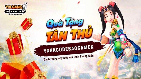 Game hot Yulgang Hiệp Khách khai mở máy chủ mới, tặng Giftcode khủng Độc Quyền