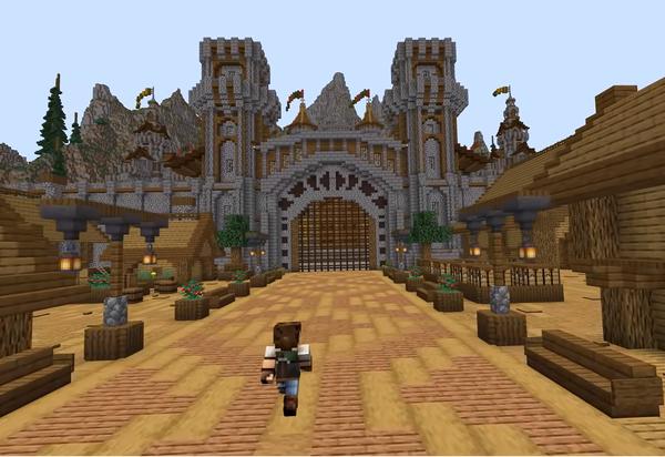 Dùng 7 năm để xây dựng lâu đài và một hòn đảo trong Minecraft