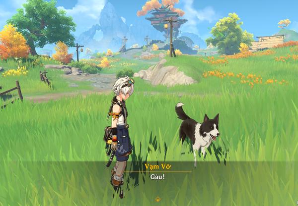"""Nói chuyện với chó liên tục trong suốt 4 tiếng, đây là thành tựu """"hard core"""" nhất Genshin Impact"""