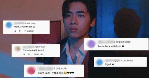 """Teaser MV mới của K-ICM lên top 2 trending, lượng dislike gấp 10 lần like, cộng đồng mạng thi nhau spam bình luận """"From Jack with love"""""""
