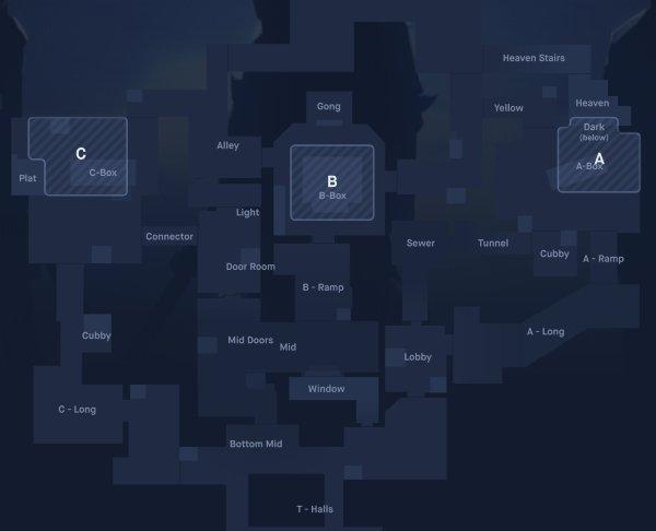 Hé lộ về bản đồ thi đấu đầu tiên của siêu phẩm Valorant: Cực rộng, có tới 3 khu vực đặt bom
