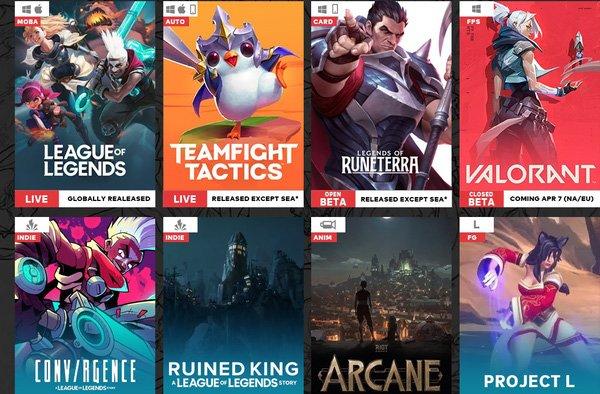 Rò rỉ lộ trình phát hành game của Riot, cơ hội cho LMHT: Tốc Chiến trong năm 2020 là vẫn còn?
