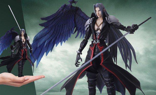 Sephiroth, ác nhân hùng mạnh nhất trong Final Fantasy VII là ai ?