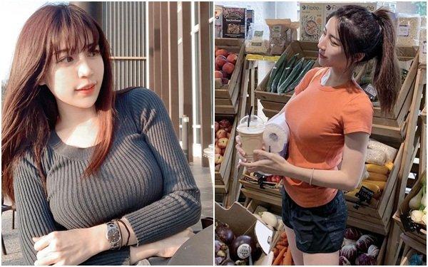 Diện áo bó sát khi ra đường, nữ chuyên gia dinh dưỡng xứ Đài khiến dân mạng thương nhớ