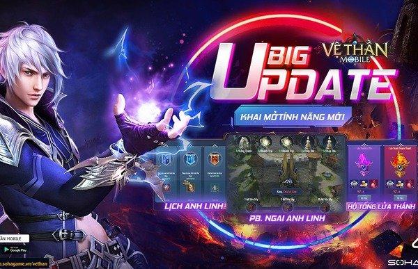 """Game """"chất Tây"""" PK nửa ngày không chán: Vệ Thần Mobile tung Big Update, tặng 2000 Giftcode"""