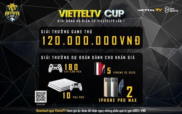 Tải app theo dõi, nhận ngay 400 triệu - cùng ủng hộ các tuyển thủ Việt Nam tham dự ViettelTV Cup lần I