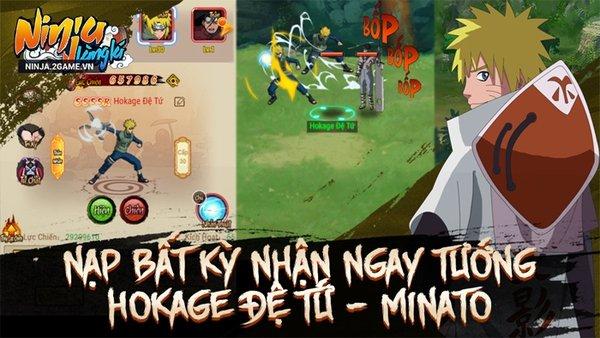 Rất nhiều đội Nhẫn giả hùng mạnh đang chờ đợi sát cánh cùng người chơi Ninja Làng Lá Mobile