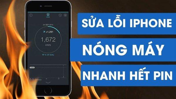 """Hướng dẫn khắc phục ngay thủ phạm làm cho iPhone nóng như """"lò"""" và tụt pin nhanh trên iOS 14"""