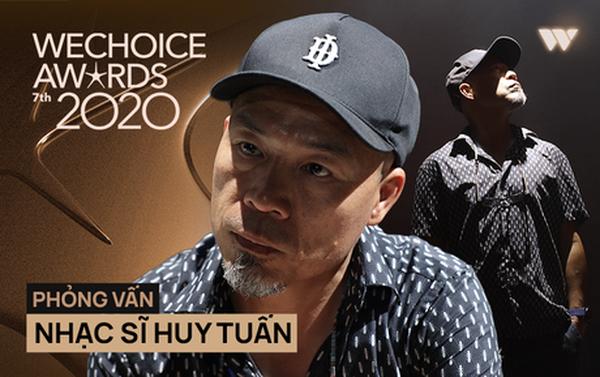 """Nhạc sĩ Huy Tuấn khẳng định: """"WeChoice Awards là một trong số ít lễ trao giải giữ được cá tính riêng"""""""