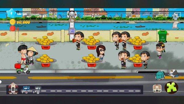 Game thủ trên tay Hàng Rong Mobile, chắc chắn có trên cả Android và iOS