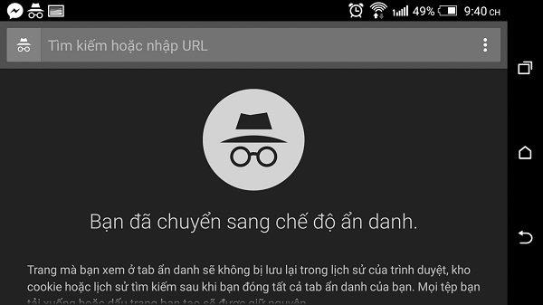 Cách bật tiện ích mở rộng trong chế độ ẩn danh của Google Chrome